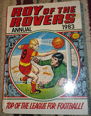 Roy Of The Rovers Annual 1983 Unclipped