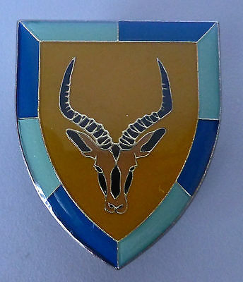 102 BATTALION SOUTH WEST AFRICA SPRINGBOK original BORDER WAR BOK BREAST BADGE