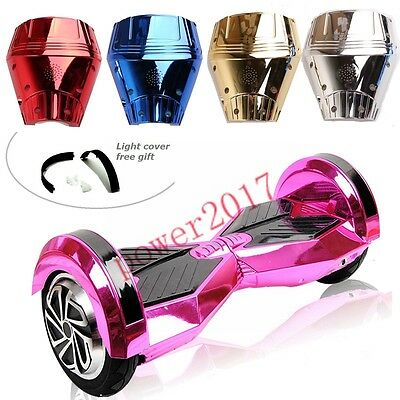 "Chrome Outer Shell Cover Case fr 8"" Self balancing Electric Scooter Hoverboard"