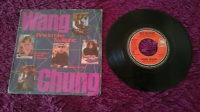 """Wang Chung / Keith Forsey – Fire In The Twilight ,  Vinyl, 7"""", 1985 , Spain"""