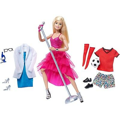 Barbie Made To Move Doll - Fitness Collection