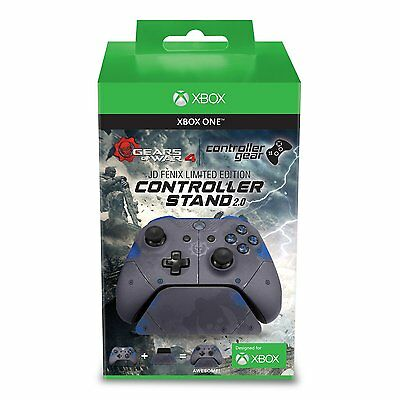 Xbox One Gears of War 4 JD Fenix Limited Edtion Grey Controller Stand NEW Boxed