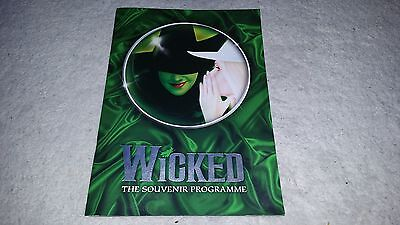 WICKED The Souvenir Programme The Musical Theatre 2014 London
