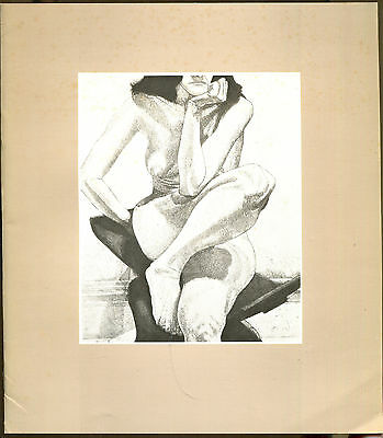 Philip Pearlstein: Prints, Drawings, Paintings-Exhibition Catalog-1979