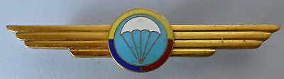 COLOMBIA SOUTH AMERICA AIR FORCE AIRBORNE PARACHUTE WING metal early PARA WINGS
