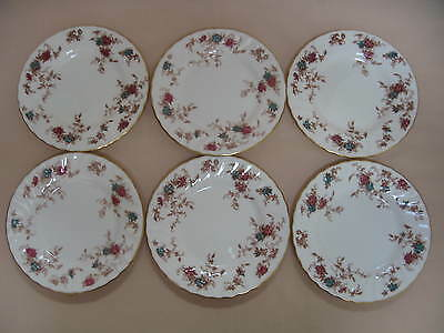 Set of Six Minton Ancestral SIDE PLATES