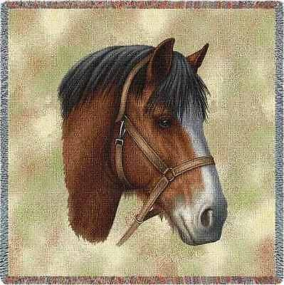 Lap Square Blanket - Clydesdale by Robert May 1738