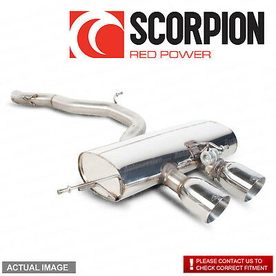 VW Golf Mk6 R 2.0 TSI 09-13 Scorpion Stainless Cat Back Exhaust System Non Res