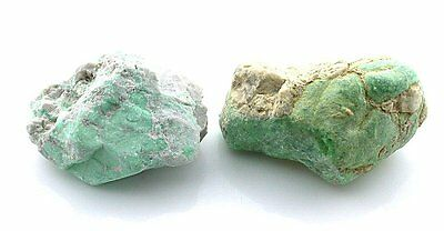 86.1 Gram Two Natural Variscite Nugget Cab Cabochon Gem Gemstone Rough B18A105