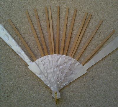 Fan Stick Simulated Mother of Pearl for Lace Fan Work