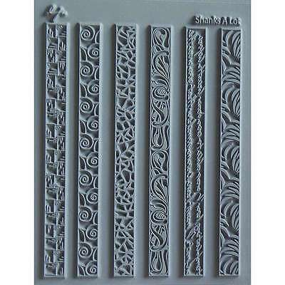 Lisa Pavelka Individual Texture Stamp 4.25 Inch X 5.5 Inch 1/Pkg-S 038562273952