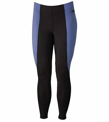 CLOSEOUT Kerrits Kid's Performance Tight Retail $49 (XLarge, Periwinkle/Black)
