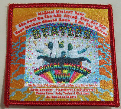 "The Beatles Magical Mystery Tour Band Patch 3"" Square New"