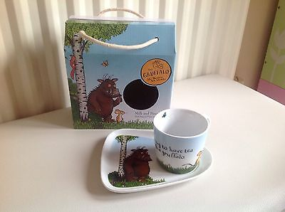 NEW And Very Rare The Gruffalo Milk and Biscuit Set. RRP £32.