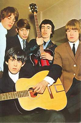 The Rolling Stones in the Early 1960s Modern Postcard #2