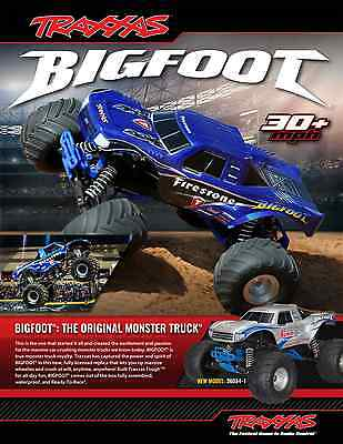 Traxxas 1/10 Scale Bigfoot Summit 2WD Brushed High-Performance Monster Truck
