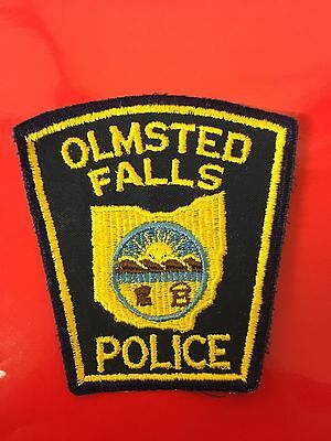 Olmsted Falls  Ohio Police   Shoulder Patch  Old Used