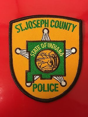 St. Joseph County Indiana  Police  Shoulder Patch