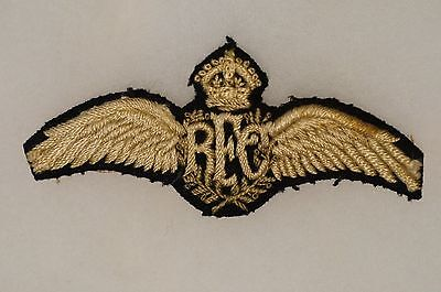 WW1 British RFC Royal Flying Corps Pilots Wings
