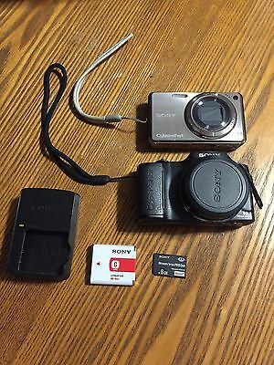 Sony Digital Camera Working W290 and H20 Lot