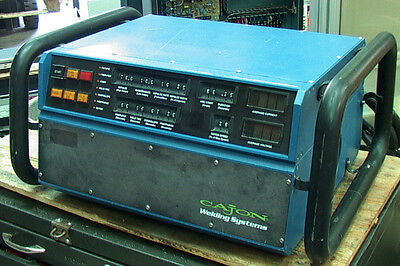 CAJON Orbital Tube WELDING SYSTEM type CWS-D100-1A 3.1KVA power supply only