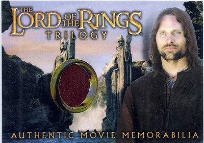 Lotr Topps Chrome Trilogy - Lord Of The Rings Aragorn's House Of Healing Shirt