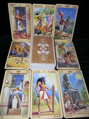 Sealed & Brand New! Ramses Tarot Cards Of Eternity Egyptian Oracle
