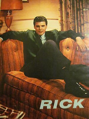 Ricky Nelson, Full Page Vintage Pinup, Rick