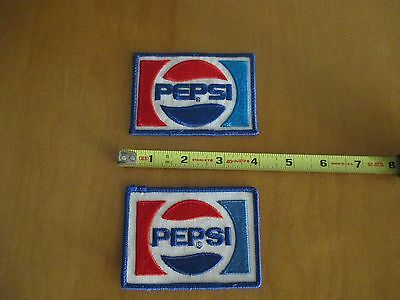 Pepsi Patches 2 Pepsi Patches Red White Blue FREE SHIP