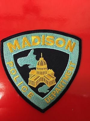 Madison Wisconsin  Police Shoulder Patch