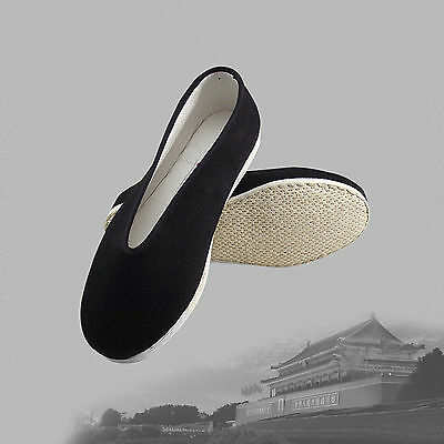 Chinoise Art Martial Jackie Chan Kung Fu Tai Chi Chaussures Slip Coton Sport A