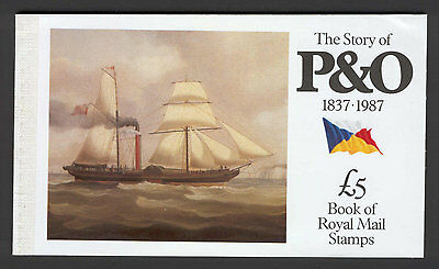 JAP U50 Great Britain 1987 MNH Prestige Booklet The Story of P&O
