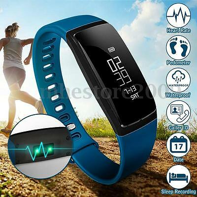 LY 107S Blood Pressure/Oxygen Heart Rate Fitness Band Sport Bracelet Smart Watch