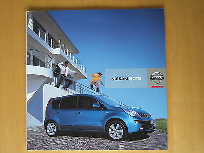 Nissan Note sales Brochure 2006 & Technical Specification