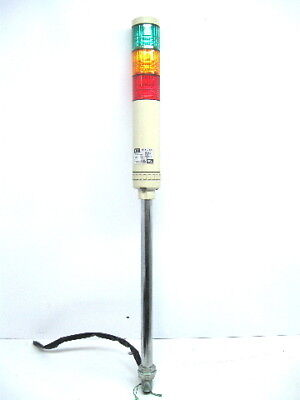 Patlite LCE-T Tower Stack Light, Red, Amber, Green 24 Vac/Vdc