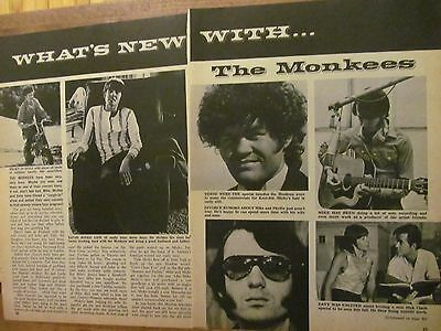 The Monkees, Two Page Vintage Clipping #5