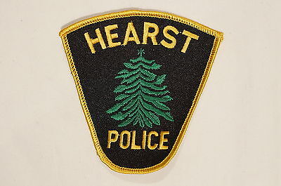 Canadian Ontario Hearst Police Patch