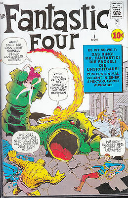 The fantastic Four Nr. 1, Die fantastischen Vier ND