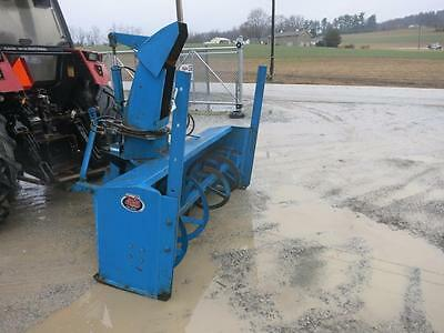 """Case IH 3 PT Tractor, Snow Blower, 540 PTO, 84"""" Wide, Hydraulic Adjustable Chute"""
