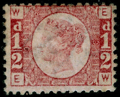 Sg48, ½d rose-red plate 9, UNMOUNTED MINT. Cat £6000. EW