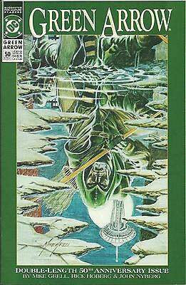 Green Arrow #50 (Dc) (1988 Series) Double-Sized Issue (Vf/nm)