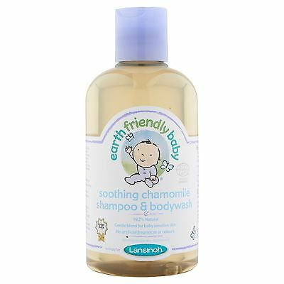 6 Packs of Earth Friendly Baby Soothing Chamomile Shampoo 250ml