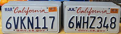 BULK LOT of 50 California License Plates NICE QUALITY