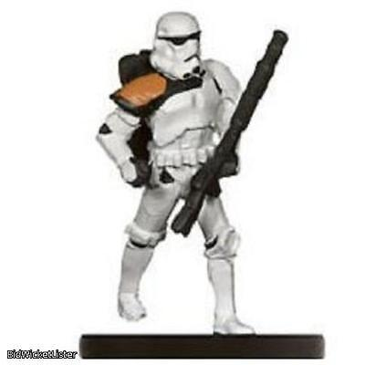 Sandtrooper Officer Star Wars Mini 018 Imperial Entanglements Miniature SWM CMG