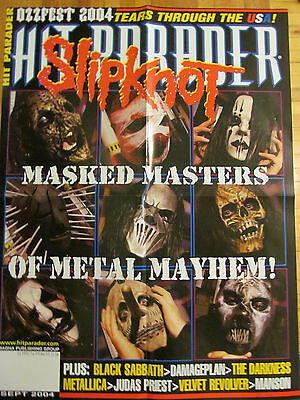 Slipknot, Four Page Foldout Poster
