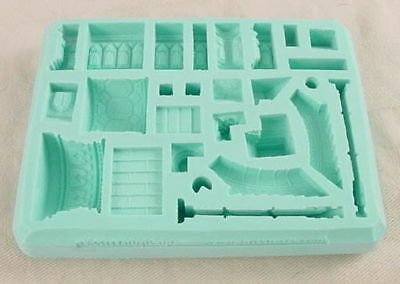 Hirst Arts #42 Gothic Arena Accessories Silicone Mold