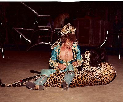1982 - Ringling Bros. Circus - Red Unit - Henry Schroeder, Animal Trainer