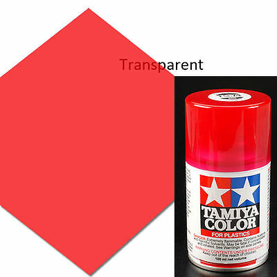 Tamiya TS-74 Clear Red Spray Paint Can 3 oz 100ml 85074 Mid-America Naperville