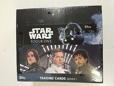 2016 Topps Star Wars Series 1 Rogue One Retail Box