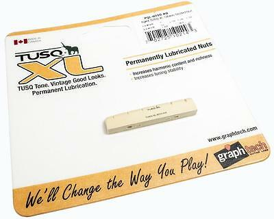 """GRAPH TECH 1/4"""" Slotted Aged TUSQ XL Nut PQL-6010-AG fits GIBSON LES PAUL"""